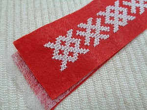 Создаем фетровые закладки с вышивкой крестиком для книг. Ярмарка Мастеров - ручная работа, handmade.