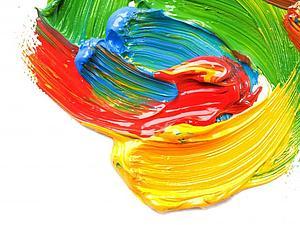 Слепому подарили краски... | Ярмарка Мастеров - ручная работа, handmade