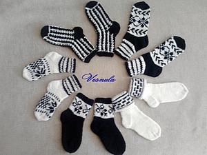 Круговорот детских  носков | Ярмарка Мастеров - ручная работа, handmade
