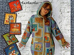 МК Вязаная курточка вместо шубки? Почему бы и нет! | Ярмарка Мастеров - ручная работа, handmade