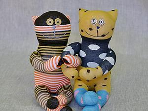 Парные Носуни - игрушки из носков Юлии Ляпиной | Ярмарка Мастеров - ручная работа, handmade