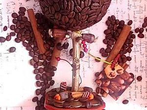 Кофейный топиарий - пошаговая инструкция | Ярмарка Мастеров - ручная работа, handmade