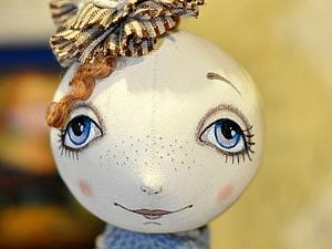 трафарет глазок для кукол мастер класс