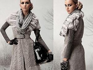 Утепляемся к весне:пальто, пончо, кардиган | Ярмарка Мастеров - ручная работа, handmade