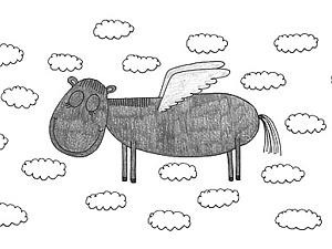 ..И только лошади летают вдохновенно!   Ярмарка Мастеров - ручная работа, handmade
