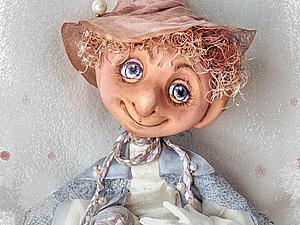 Изготовление сказочного персонажа в смешанной технике. Третья часть: роспись лица. Ярмарка Мастеров - ручная работа, handmade.