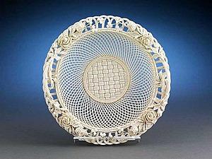 Белое фарфоровое кружево из Ирландии | Ярмарка Мастеров - ручная работа, handmade