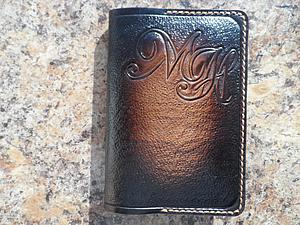 Делаем кожаную обложку для паспорта, автодокументов. Ярмарка Мастеров - ручная работа, handmade.