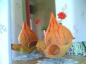 Валяем буденовку — шапку для бани. Ярмарка Мастеров - ручная работа, handmade.