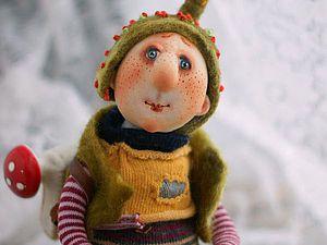 Валяем шапку для куклы, быстро и просто. Ярмарка Мастеров - ручная работа, handmade.