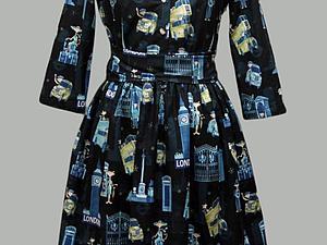 Аукцион на веселое платье 44го размера! | Ярмарка Мастеров - ручная работа, handmade