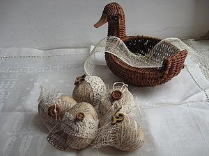 """Декор яиц для Пасхи """"А-ля Винтаж"""". Ярмарка Мастеров - ручная работа, handmade."""