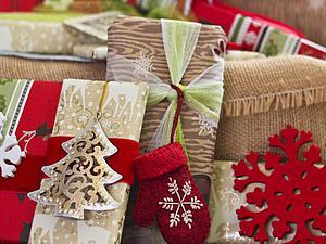 Новогодняя подарочная упаковка 9
