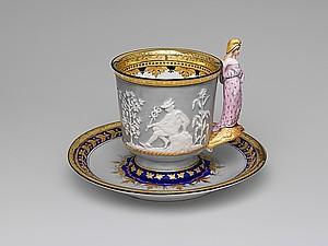 Чашка чаю. Девятнадцатый век. Ярмарка Мастеров - ручная работа, handmade.