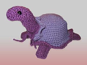 Игрушка-черепашка | Ярмарка Мастеров - ручная работа, handmade