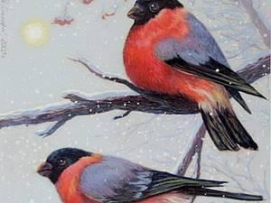 Мастер-класс по сумкам с зимними птицами.   Ярмарка Мастеров - ручная работа, handmade