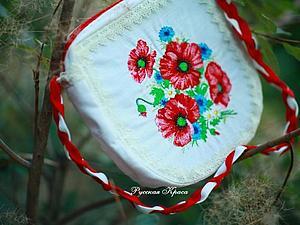 Успей купить! в Наличии Красивыйшая сумочка с вышивкой | Ярмарка Мастеров - ручная работа, handmade