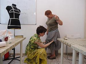 Мастер-класс  по пошиву юбки на подкладке-28 октября Москва | Ярмарка Мастеров - ручная работа, handmade