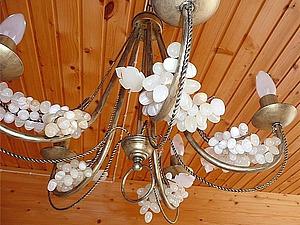 Декорирование люстры за час. Ярмарка Мастеров - ручная работа, handmade.