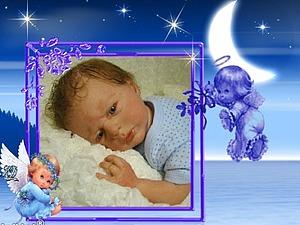 Малыш Ангелочек-куклы реборн Инны Богдановой. | Ярмарка Мастеров - ручная работа, handmade