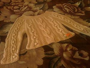 Кофта с аранами | Ярмарка Мастеров - ручная работа, handmade