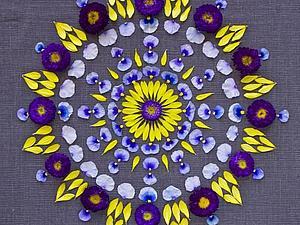 Да пребудет с Вами мандала в Новом Году!:-) | Ярмарка Мастеров - ручная работа, handmade