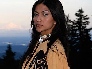 Индейский чокер - узнаваемый атрибут индейцев Дикого Запада | Ярмарка Мастеров - ручная работа, handmade
