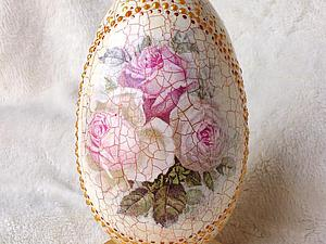 Пасхальный сувенир (имитация фарфора) | Ярмарка Мастеров - ручная работа, handmade