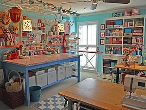 Идеи для дома. Часть 6: мастерская — уголок для рукодельницы. Ярмарка Мастеров - ручная работа, handmade.