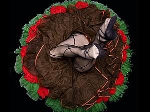 Роковые кринолиновые цветы   Ярмарка Мастеров - ручная работа, handmade