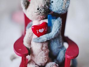 Поздравляем с Днем влюбленных! | Ярмарка Мастеров - ручная работа, handmade