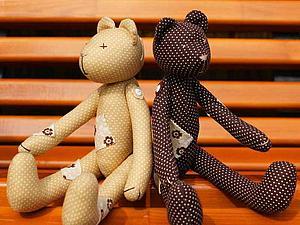 Шьем мишку или зайку в стиле Тильда - на ваш выбор! | Ярмарка Мастеров - ручная работа, handmade