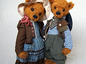 Курс « Гардероб для мишки Тедди» | Ярмарка Мастеров - ручная работа, handmade