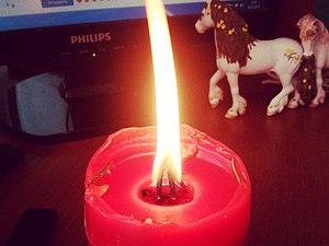вот так горят мои свечки | Ярмарка Мастеров - ручная работа, handmade