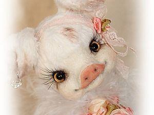 Свинка Ангелочек | Ярмарка Мастеров - ручная работа, handmade