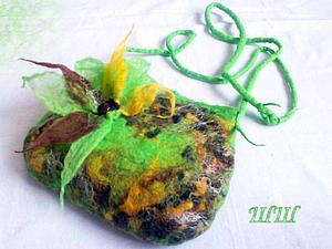Многолотовый аукцион! только сегодня!валяная сумка, фотоальбом и шарф! | Ярмарка Мастеров - ручная работа, handmade