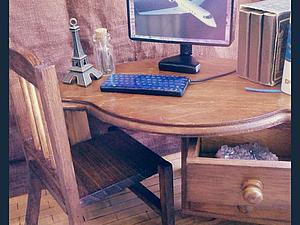 Мастер-класс: Компьютер в миниатюре 1:6. Ярмарка Мастеров - ручная работа, handmade.