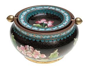 китаиская перегородчатая эмаль. клаузоне. | Ярмарка Мастеров - ручная работа, handmade