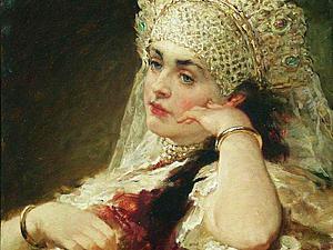 Красота женщин допетровской Руси. Ярмарка Мастеров - ручная работа, handmade.
