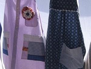Как сшить фартук из мужской рубашки | Ярмарка Мастеров - ручная работа, handmade
