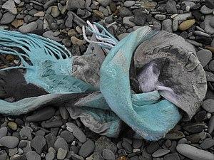Весенние шарфики, или как сделать длинный шарф из короткого куска шелка | Ярмарка Мастеров - ручная работа, handmade