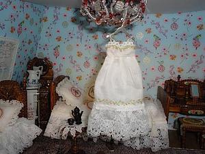 Одежда для кукол: шьем ночную сорочку. Ярмарка Мастеров - ручная работа, handmade.