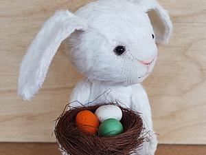 Шьем пасхального тедди-кролика | Ярмарка Мастеров - ручная работа, handmade