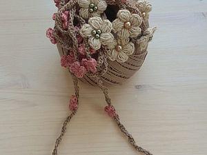 Цветочный шнурок