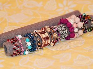 Самый лучший стенд для браслетов и колец своими руками | Ярмарка Мастеров - ручная работа, handmade