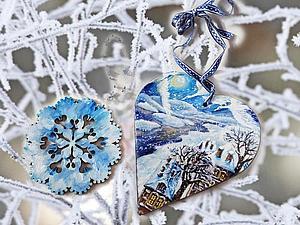 В магазине уже появились подвесы из Новой коллекции Зимняя сказка! | Ярмарка Мастеров - ручная работа, handmade