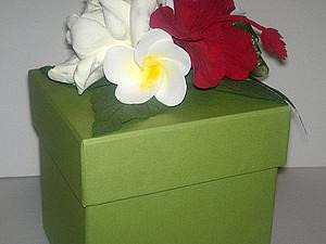 Акция -30% Мастер-класс Подарочная коробка 4 цветка из полимерной глины Clay Craft by Deco со скидко | Ярмарка Мастеров - ручная работа, handmade