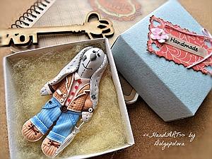 У нас пополнение - Кролик Хэппи! :-) | Ярмарка Мастеров - ручная работа, handmade
