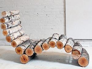 Садовый шезлонг (лежак) | Ярмарка Мастеров - ручная работа, handmade