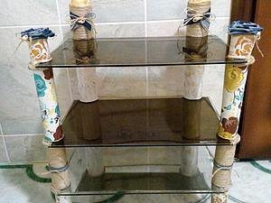 Стеклянная полочка в ванную своими руками. Ярмарка Мастеров - ручная работа, handmade.